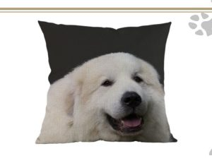 Pyrenean Mountain Dog Cushion Cover