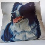 border collie cushion cover 2