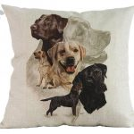 Labrador Retriever Cushion Cover